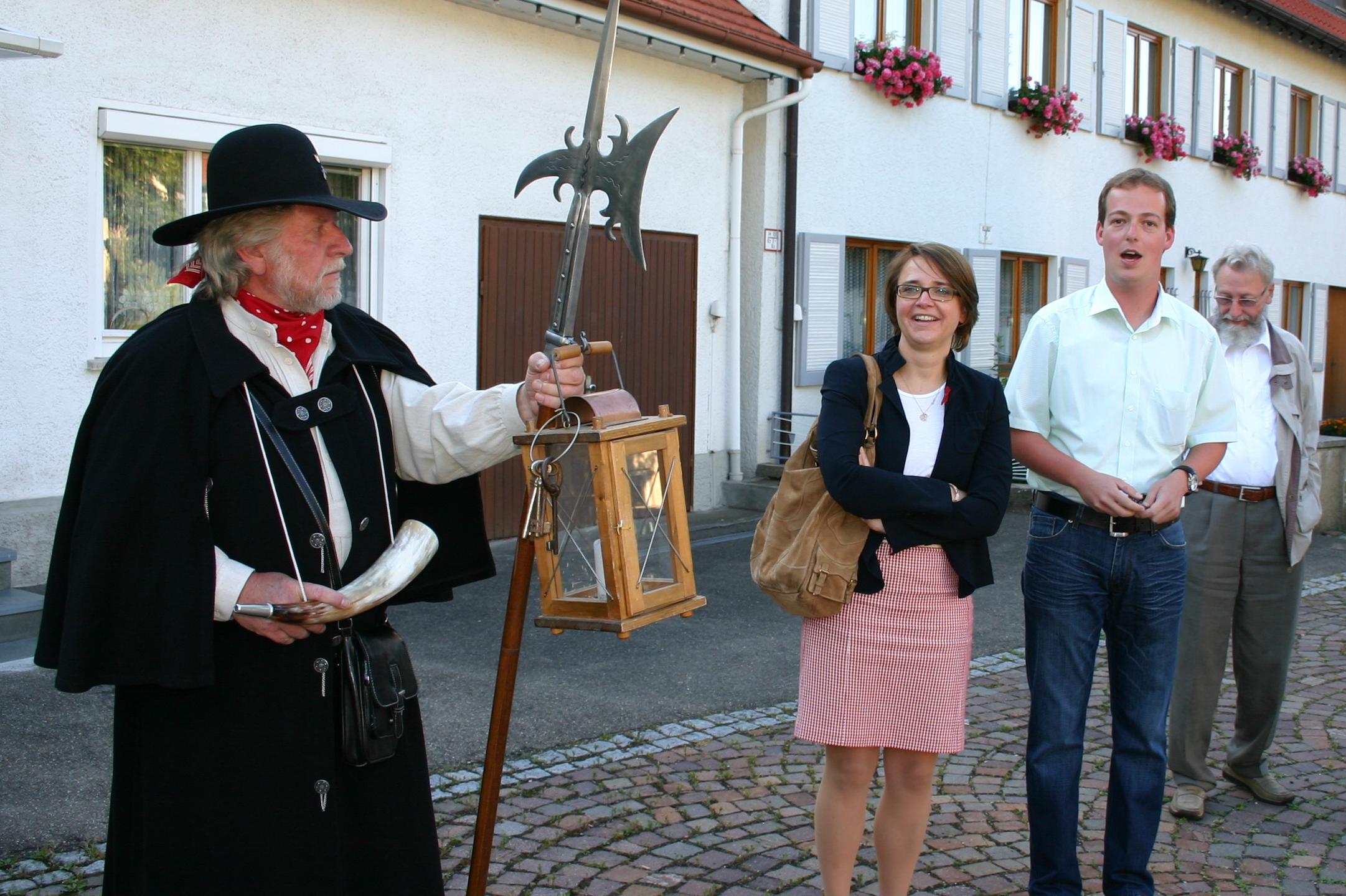 blonde ältere Burladingen(Baden-Württemberg)